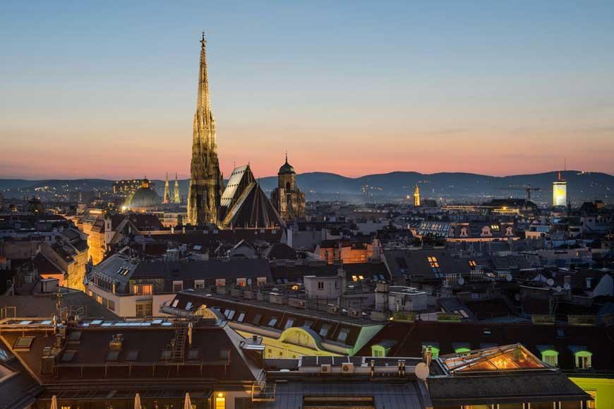 Capodanno Vienna dalla Sicilia
